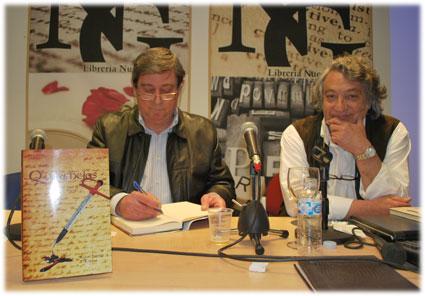 Miguel y Agustín terminaron su libro hace cuatro años