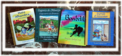 Los cuatro cuentos de Brígida dedicados a Granada o personajes históricos granadinos