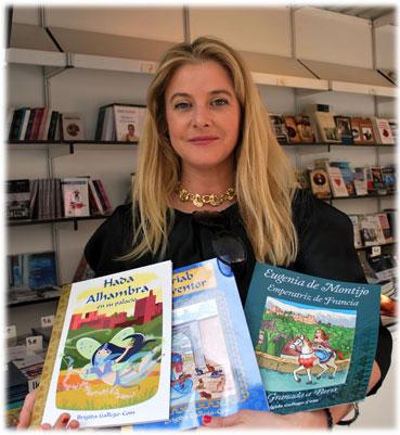 Brígida Gallego -Coín se muestra ilusionada con su incursión en la literatura infantil