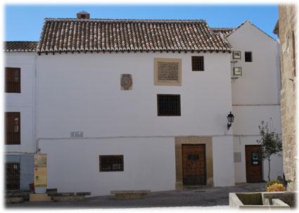 Fachada de la antigua cárcel, ahora sede del centro de interpretación