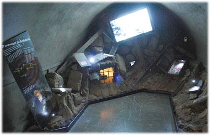 Sala dedicada al Terremoto de Andalucía