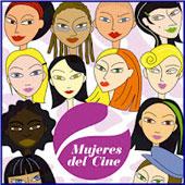 Cartel de la muestra, Cine de Mujeres, que dirige Diego Ballesteros
