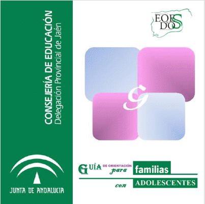 Portada de la guía editada por la Delegación de Educación de Jaén