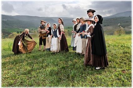 Algunos de los actores participantes en este nuevo musical de La Butaca Vacía