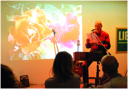 Imagen de la II Gala Músico-Literaria celebrada en el pasado mes de febrero