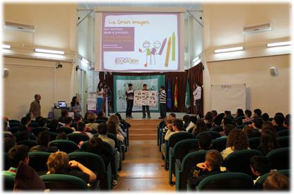 En un momento del acto celebrado en el CEP de Granada