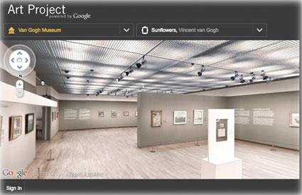 Google Art Projet posibilita el recorrido vitual por los impontantes museos del mundo
