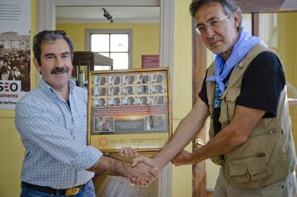 El alcalde del Puerto de San Juan y el presidente de la Fundación Atarazanas