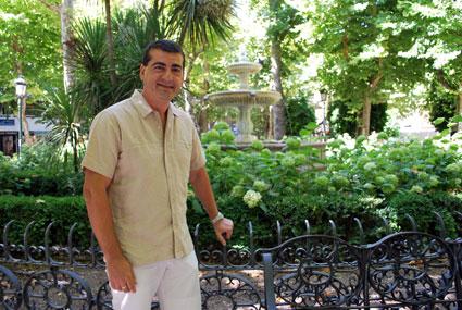 Custodio ha bebido de las fuentes literarias de Lorca, Alberti, Machado y Gloria Fuertes