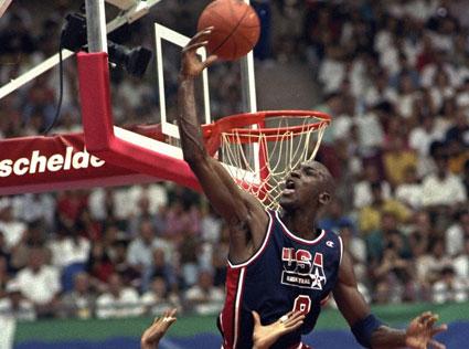 Michael Jordan en Barcelona'92