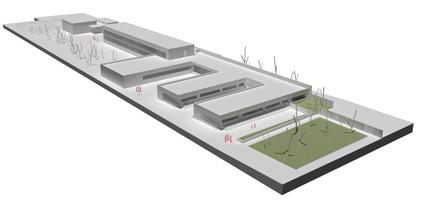 Maqueta del nuevo centro que se va a construir en Atarfe
