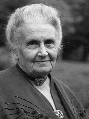 María Montessori/ Imagen de wikimujeres.net