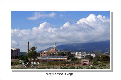 Con esta bella imagen de Motril desde la Vega nos felicitó Antonio el Día del Medio Ambiente, 2011
