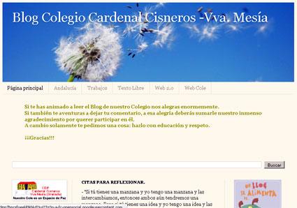 Blog del colegio de Villanueva Mesia