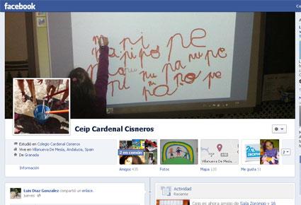 Presencia en Facebook