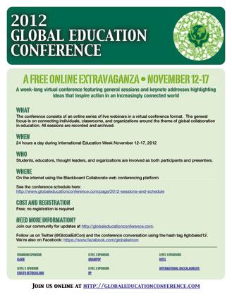 Póster de este evento mundial relacionado con la educación