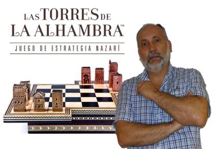 Paco López, inventor de juegos y escritor