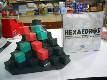 Hexaedros, otro de los juegos de Paco López