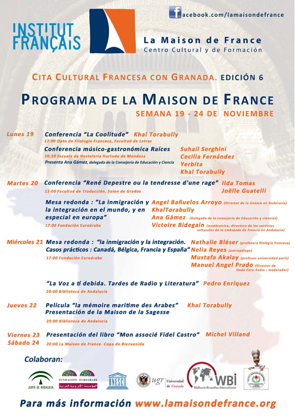 Programa de la Cita Cultural Francesa