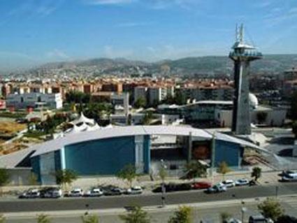 Vista del Parque de las Ciencias de Granada