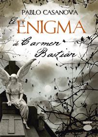 Portada de la segunda novela El enigma de Carmen Bastián
