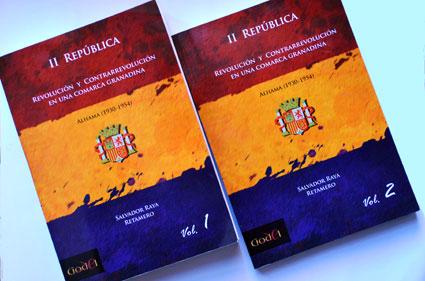 Portadas de los dos volúmenes