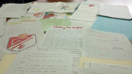 Trabajos realizados por los alumnos/as