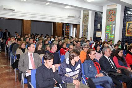 Auditorio del salón de actos de la EFA El Soto