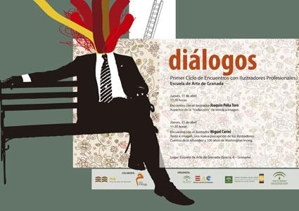 La actividad está organizada por los departamentos de diseño gráfico y FIE, , con la colaboración de varias institutiones