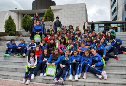 Grupo del Colegio del  Ave María La Quinta