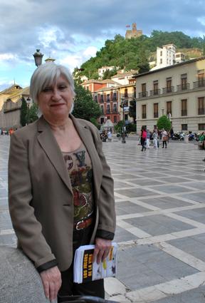 Rosa María Nieto de Molina, en Plaza Nueva