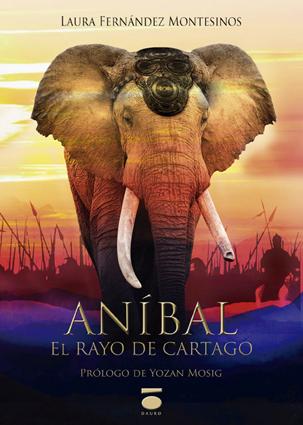 Portada de 'Aníbal, el Rayo de Cartago'