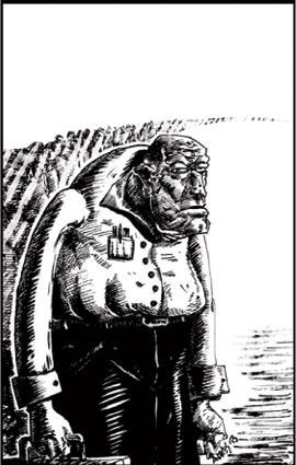 Ilustración de Andrés F. Campos para 'Desahuciados'.:ANDRÉS F. CAMPOS