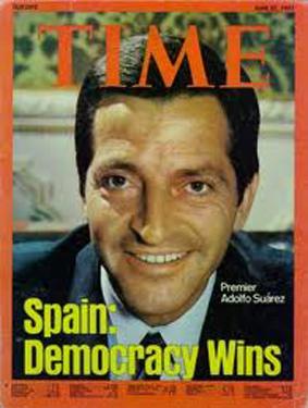 Suárez en la portada de la revista Time