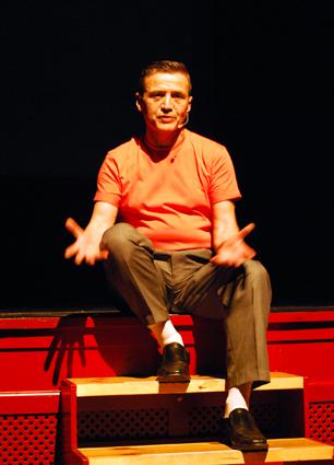 En un momento de la emotiva interpretación de José L. Ortega/ A. A.