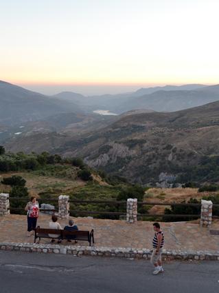 Increibles vistas desde el 'balcón' de Cáñar/ A. ARENAS