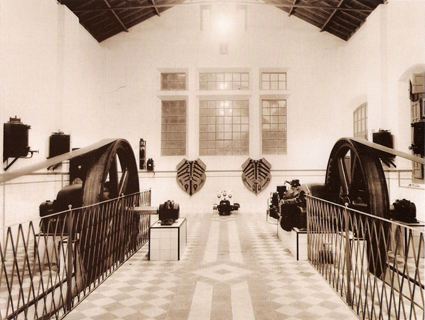 Central térmica de Baza, 1910. Archivo de la Cía. Sevillana