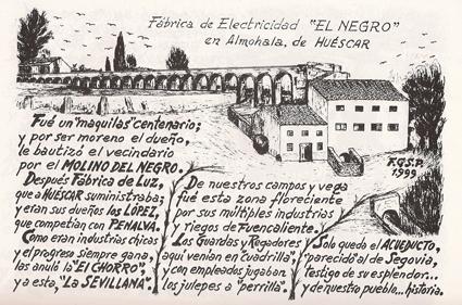 Dibujo de Francisco García de la Serrana Parra