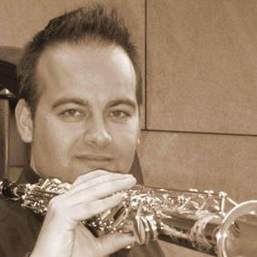 Rubén Caballero, saxofonista