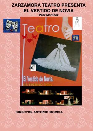 Cartel de la obra: El vestido de novia