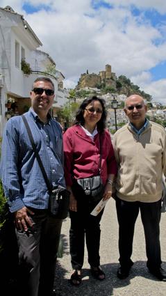 Eduardo Zarza y Pepe Ginés, junto Reme Durán, Coordinadora del ETP de Orientación Educativa