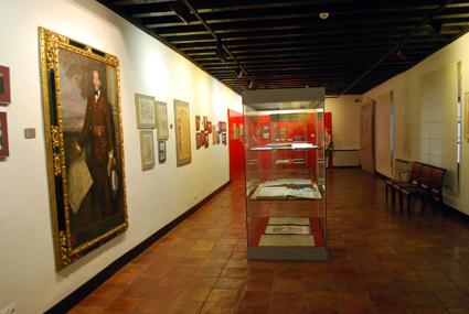 Una de las salas del Museo Casa de los Tiros / A. A.