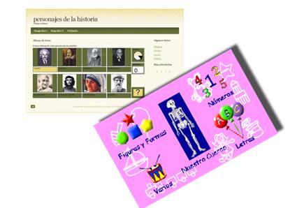 Con Ardora se pueden crear actividades interactivas para Infantil, Primaria y Secundaria