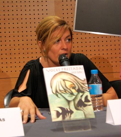 Grela en el acto de presentación celerado en Barcelona en los últimos días de junio pasado