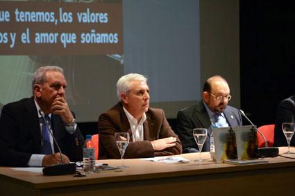 Antonio Luis, Juan de Dios Villanueva y Joaquín Abrás/ B. ROA