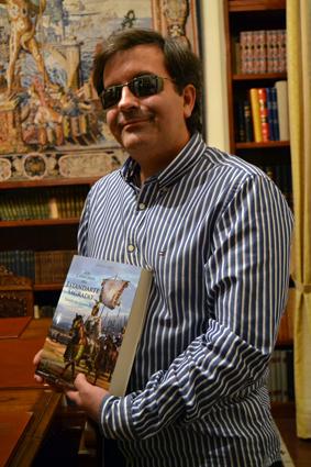 El autor explica que es una novela muy fiel a la realidad histórica. /A.A.