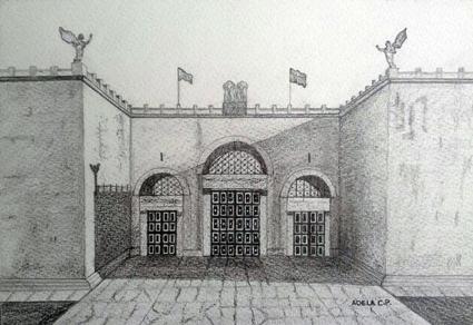 Ilustración de Adela Calvo incluida en el libro