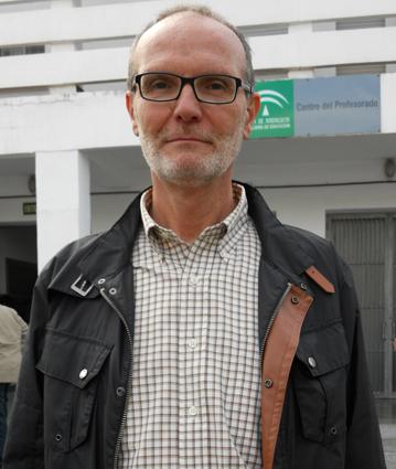 El presidente de los inspectores en el Centro del Profesorado de Granada, esta pasada semana