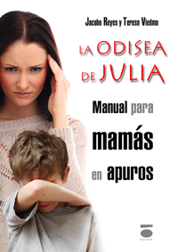 Portada de 'La odisea de Julia' diseñada por Ágata Lech