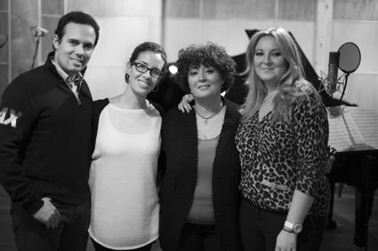 Julio Cendal, Mercedes Enciso, Mª del Mar Ortiz y Mariola Cantarero